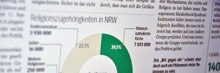 """image of """"NRW nicht religiöser, aber religiös vielfältiger"""". Neue Ruhr Zeitung interviewt Volkhard Krech"""