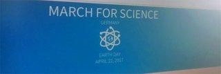 """image of Wir unterstützen den """"March for Science"""""""