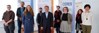 image of Focussing Buddhism: Mongolian Ambassador to the UN visits CERES