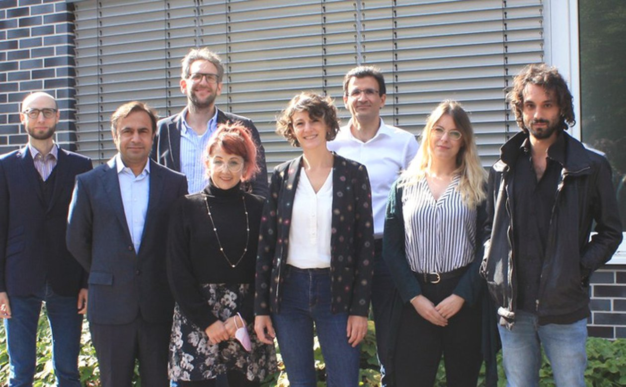 image of DOAM Director visits CERES: Present and Future of a Key Partnership