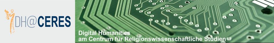 Digital Humanities am Centrum für Religionswissenschaftliche Studien