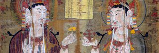 image of Moving out of the Tibetan Period: Stein Painting 3 from Dunhuang