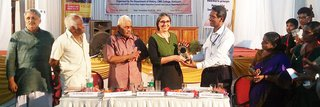 image of KHK fellow awarded in India