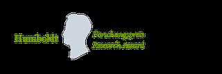 Logo of Humboldt Forschungspreis