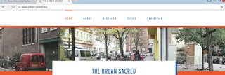 Logo of Online-Ausstellung: The Urban Sacred