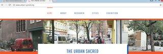 Logo of Online-Ausstellung: The Urban Sacred